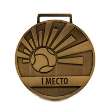 Sports Medal custom cheap metal football game medals hot sales made plating bronze medal
