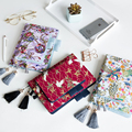 2019 Japanese Fabric Antique Cover Refillable Notebook Cover Bullet Journal For Hobonichi Lined/Grid/Blank/Planner Refill A5 A6