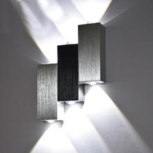 Sinfull GL0083 новые творческие СВЕТОДИОДНЫЙ Алюминиевый 6 Вт Настенные светильники коридор прохода Спальня Фон настенный светильник Бар KTV бра освещения