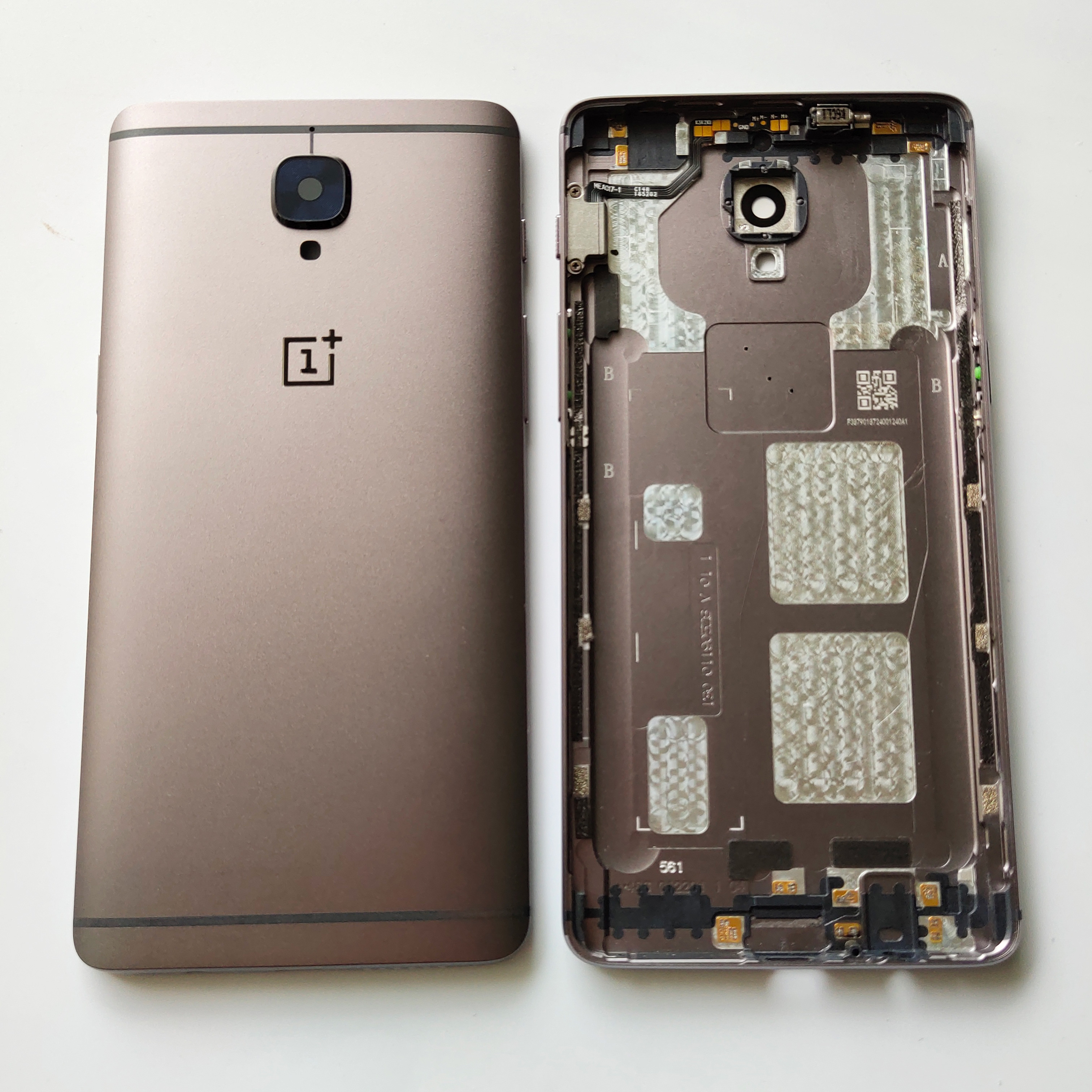 Cover Door-Housing-Case Oneplus A3010 Back-Battery Rear-Glass-Parts Gray for 3/A3000/A3003
