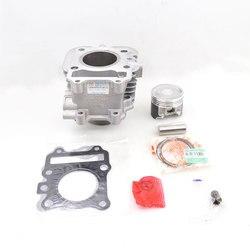 Hohe Qualität Motorrad Zylinder Kit Für Haojue Suzuki AN125 HS125T EINE HS 125 125 cc Motor Ersatzteile