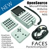 M5Stack nuova offerta! Computer tascabile con facce aperte ESP32 con tastiera/PyGamer/calcolatrice per Arduino in micropitone