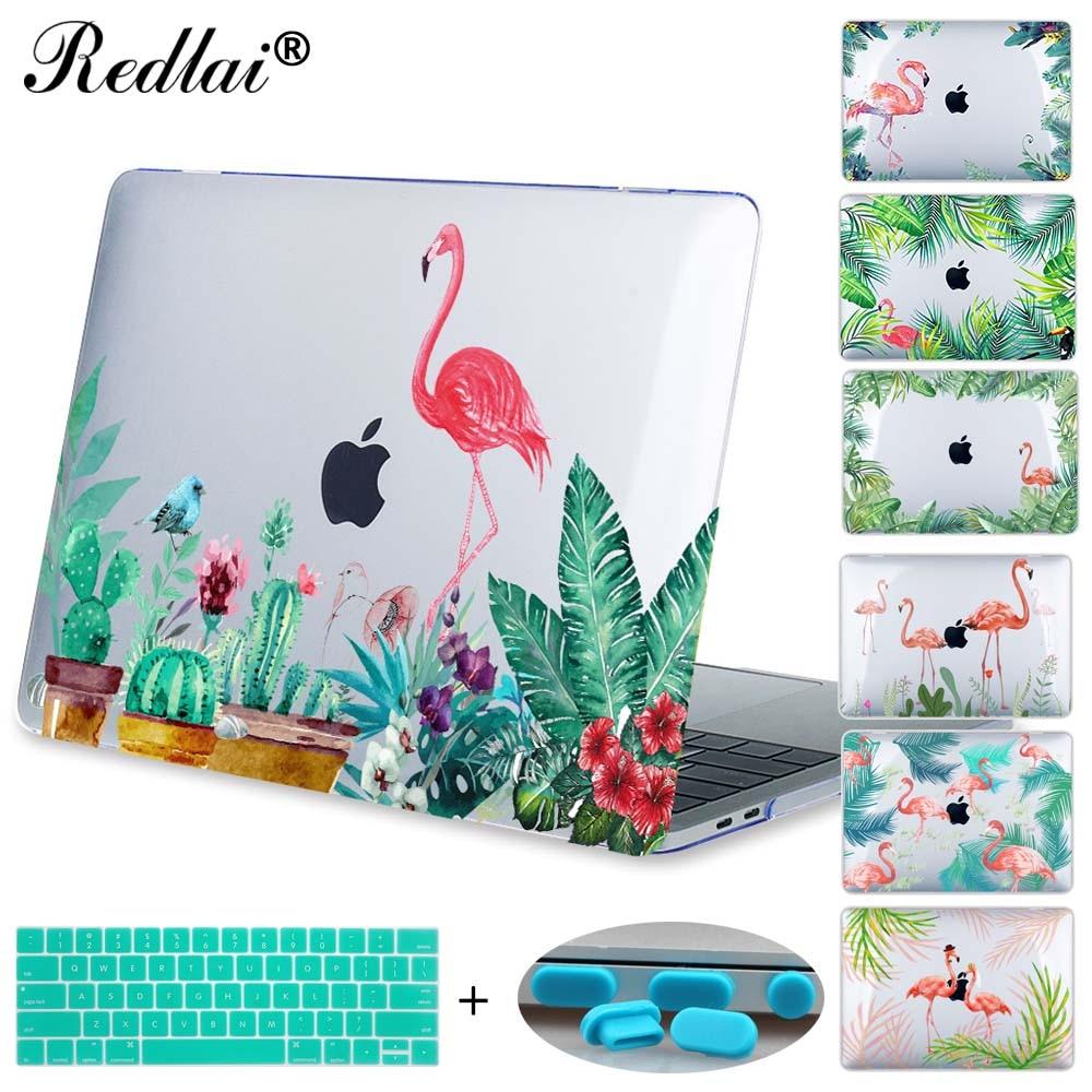 Laptop Case For Macbook 12 inch A1534 New Pro 13 A1706 A1708 Air 13 A1466 A1369 Retina 13 A1502 Flamingos Printed Hard Case mosiso hard shell case for macbook air 11 inch a1370 a1465 laptop protective cover for macbook air 13 13 3 inch a1466 a1369