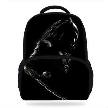 14Inch Hot Sale Kids Print Bag The Predator Backpack For Children Boys Girls School Bags For Students Casual Bag