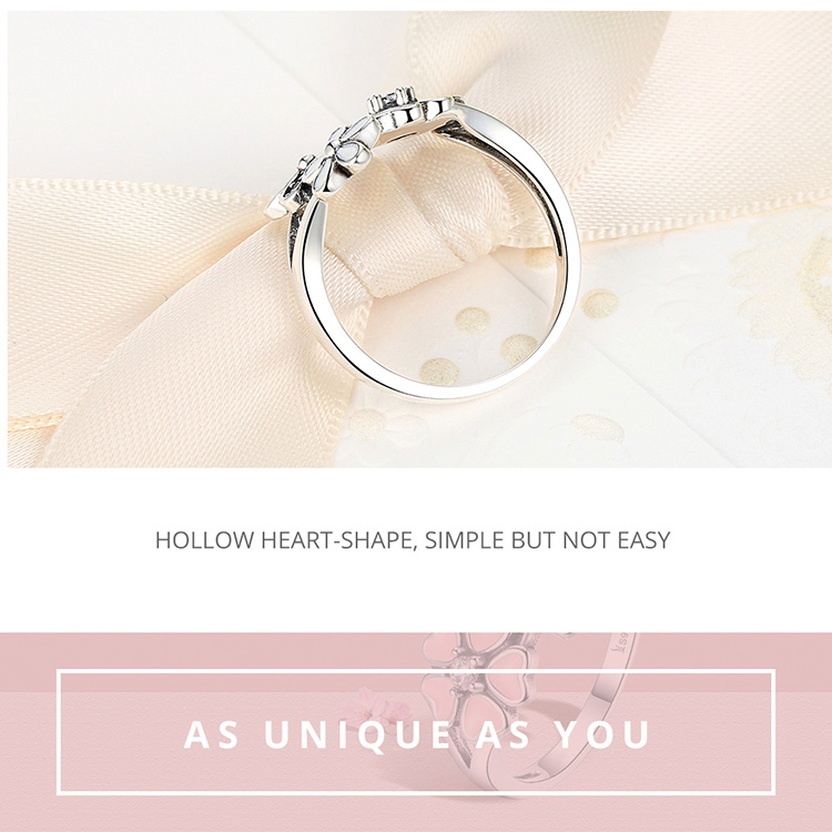 HTB1RUq0jlHH8KJjy0Fbq6AqlpXaZ BAMOER Fashion 925 Sterling Silver Pink Flower Poetic Daisy Cherry Blossom Finger Ring for Women #6 7 8 9 Size Jewelry SCR004