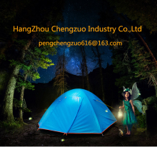 Hot Sale Foldable Double Layer 2 Person Waterproof Camping Tent, TXZ-ZP016,Blue color Outdoor Tent