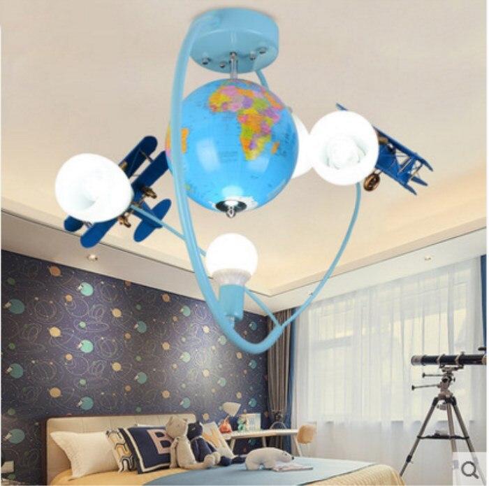 Licht & Beleuchtung Klug Europäischen-stil Globus Kinderzimmer Lichter Junge Schlafzimmer Decke Licht Kreative Moderne Einfache Flugzeuge Lampen Ta9219b Clear-Cut-Textur