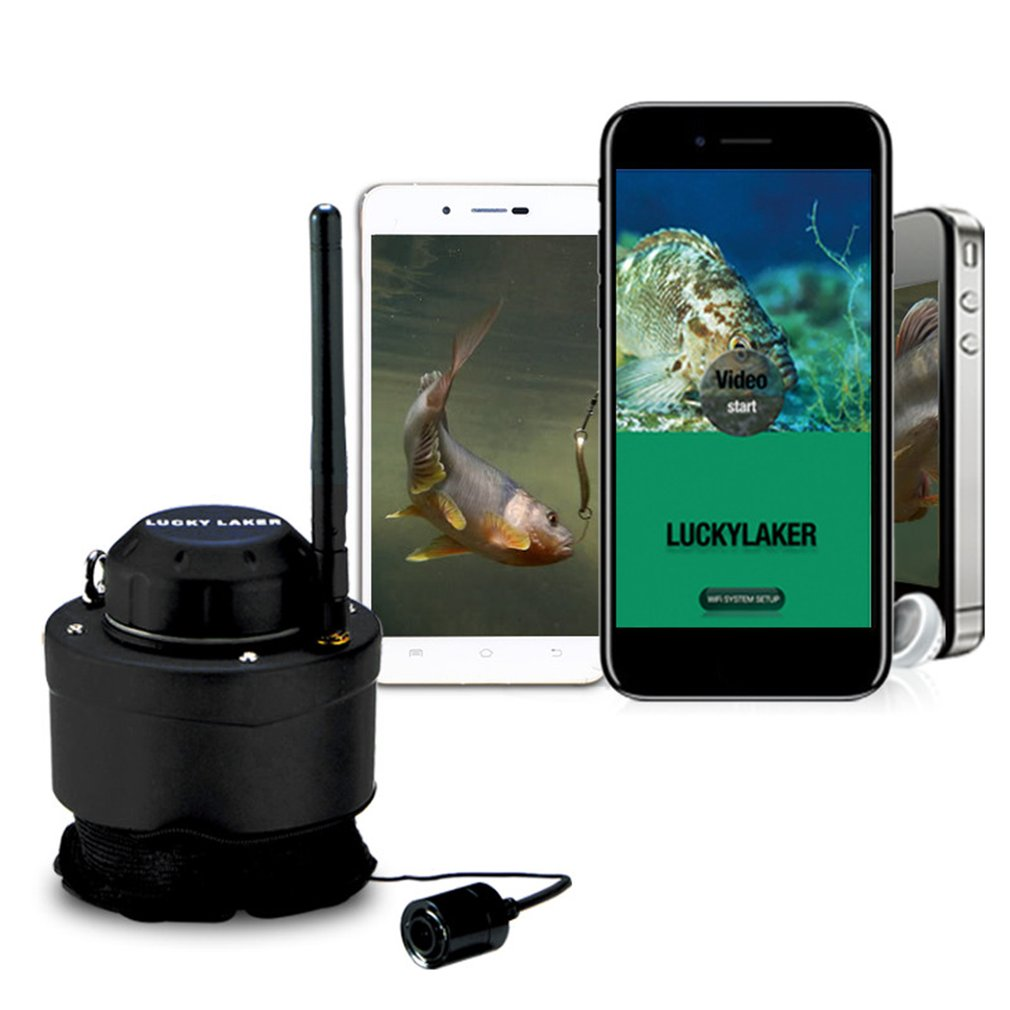 Lucky Portable Wifi Fishing Inspection Camera Underwater Camera Fish Finder Fit for Android for iOS Mobile Phones Drop Shipping
