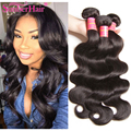 Peruana Virgin Hair Body Wave Weave 7A Alta Calidad 100% Producto de Pelo Longqi bruto Pelo de la Virgen 4 Bundle Ofertas Blove pelo
