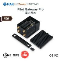 LoRa Indoor Gateway RAK831 Upgraded Version of Pilot Gateway Pro, Supporting 4G/WiFi/LoRa
