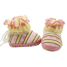 2017 NEW Kawaii Casual Baby Shoes Baby Winter Warm First Walker Baby Shoes Soft Bottom Baby Boys Girls Snow Shoes