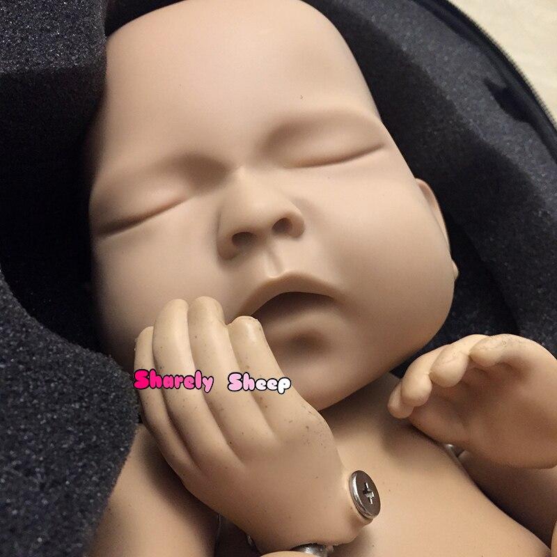 newborn photo shoot doll