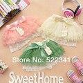 Girls Ballet Mini Skirt Child Petti Princess Dance Skirt Baby Tutu Ballroom Micro Skirt Children Summer Ruffle Short Skirt