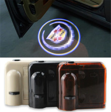 Car Door Welcome Light Laser Car Shadow led car logo light door ghost light projector lamp For Cadillac SRX SXT ATS CTS series