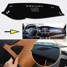 Brand New Interior Dashboard Carpet Photophobism Protective Pad Mat For BMW 5 Series 2007-2009