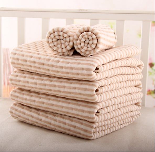 Newborn Baby Changing Pad 4 layrer waterproof Bebe Urine Pad Infant Toddler Changing Mat Cotton Stroller Bed Sheet Portable