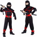 Anime Classic Halloween Costumes Cosplay Costume Martial Arts Ninja Costumes For Kids Fancy Party Fantasias Gift For Children