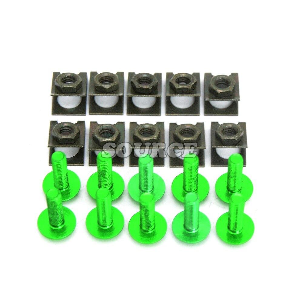 6mm accesorios de motos pernos de trabajo del cuerpo para honda cbf 250 cbr 1000