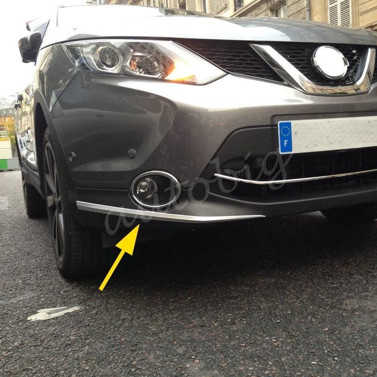 Nissan Rogue Select >> Chrome Front Bumper Fender Cover Trim Bezel FOR Nissan ...