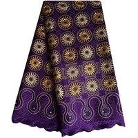 Африканский кружевной ткани 2018 вышитые в нигерийском стиле шнуровка ткань Свадебные Высокое качество Французский тюль кружевной ткани для...