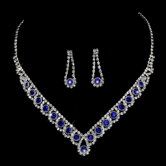 BLIJERY Charm Royal Blue...