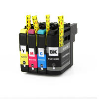 4 PCS For Brother LC131 LC 131 Ink Cartridge For Brother MFC J475DW J650DW J6920DW J470DW