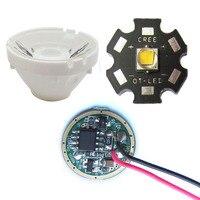 Cree 10W XM L T6 Warm 3500 White 6500K LED Light 5 Modle 3 7V Driver