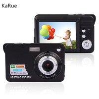 Karue DHL или EMS или FedEx IE 20 шт. цифровой Камера высокое Портативный 18MP 2.7