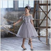 girl princess costume dress with Rhinestone for girls open shoulder Birthday Party dress off shoulder Dresses on graduation day