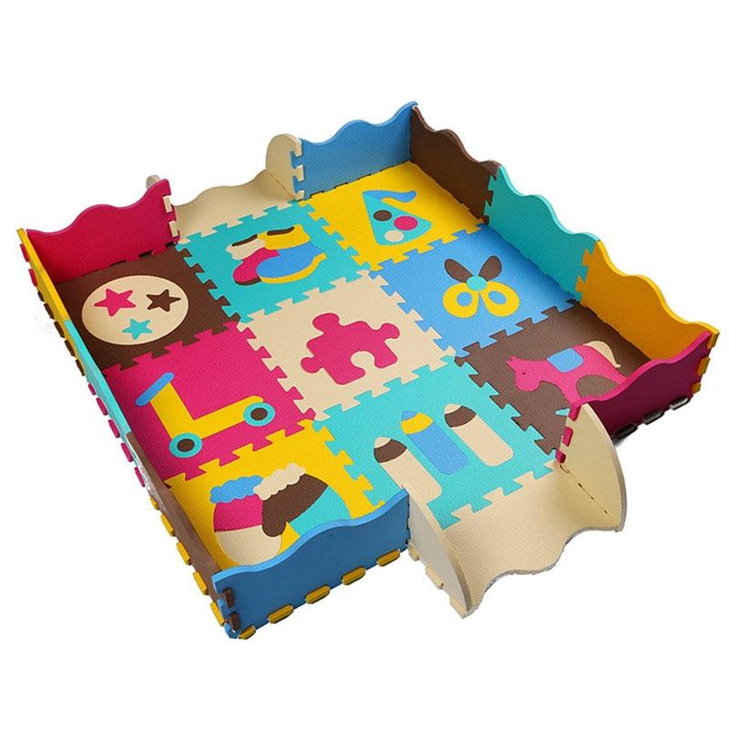 Doux En Mousse Eva Puzzle Tapis De Jeu Colore Bebe Tapis De Jeu 9