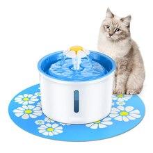 Кошка фонтан питьевой 1.6L автоматический фонтан для домашних животных диспенсер для воды для домашних животных собака кошка забота о здоровье фонтан подачи воды