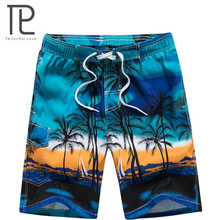 Новинка, мужская пляжная одежда, крутые пляжные шорты, быстросохнущие, для водного спорта, плавки, летние пляжные шорты M-6XL, очень большие, 10+ цветов