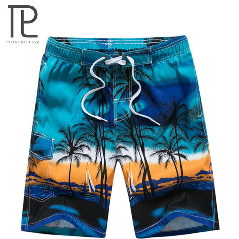 2018 New Men's Beachwear Cool   Board     Shorts   Quick Dry Watersport Swim Trunks Summer Beach   Shorts   M - 6XL Extra Large 10+ colors