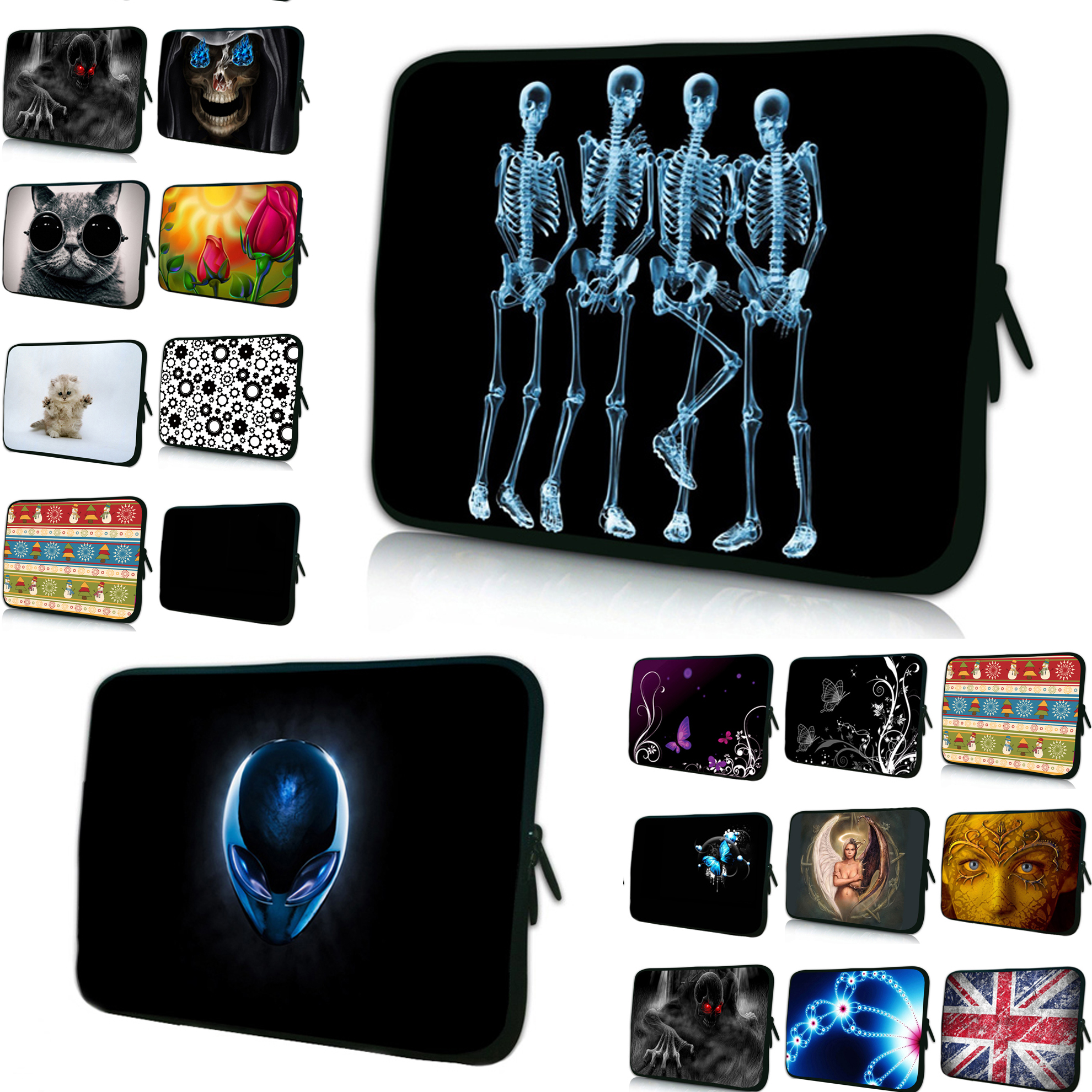 Vogue Laptop Sleeve Bag Cover Cases Zippers 7 10 12 11.6 13.3 14 15 17 Notebook Bags Pouch For Chuwi Tab 10,1 Acer Lenovo HP IBM