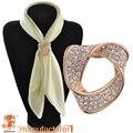 2016 Dual purpose broche de cristal strass Vestuário Cachecol clipe shinny vintage coração broche pin para o casamento/presente