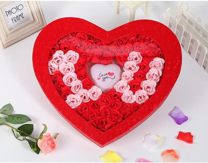 Romantic Love Roses Soap Flowers Gifts Colorful Rose 1 Set Free Shipping Cheap Price In From Beauty Health On Aliexpress