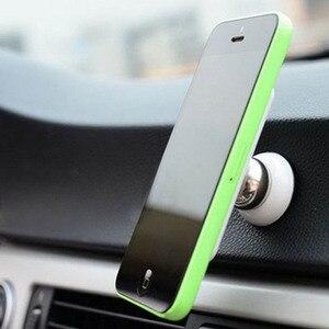 Image 3 - 360 stopni uniwersalny uchwyt samochodowy telefon magnetyczny telefon komórkowy Air Vent góra akcesoria do telefonów komórkowych stojak GPS wsparcie dla Samsung