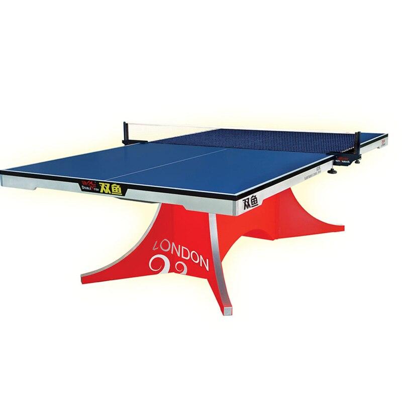 Double aile de Volant de poisson de première qualité 2 ITTF approuvé table de ping-pong officielle pour tournoi international de 25mm d'épaisseur