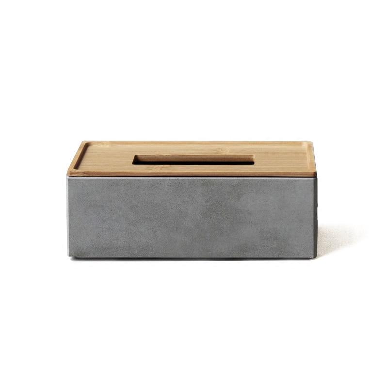 시멘트 수건 상자 실리콘 금형 유행과 창조적 인 선물 종이 판지 박람회 직면 콘크리트 장식 금형-에서점토 몰드부터 홈 & 가든 의  그룹 1