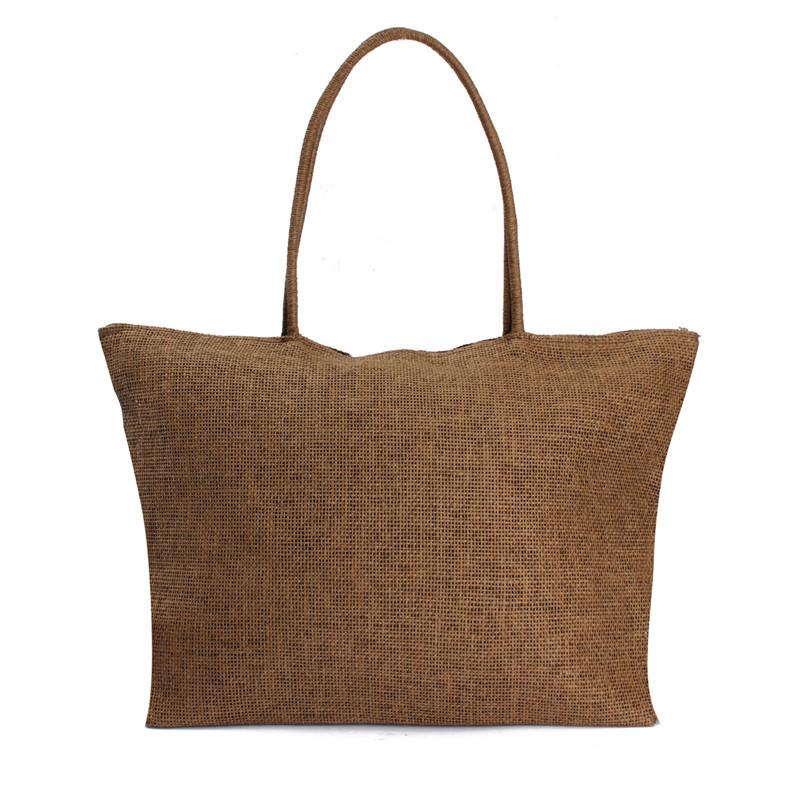 2017 Hot New Design Straw Popular Summer Style Weave Woven Shoulder Tote Shopping Beach Bag Purse Handbag Gift FreeShipping N770 13