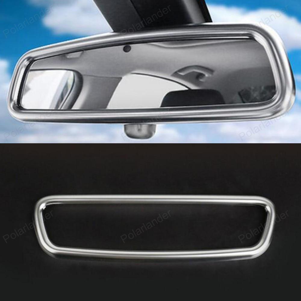 car Rear View Mirror Cover Decoration Trim frame For B/MW X1 X3 X5 X6 E84 F25 E71 E70 2010+ 3D sticker Interior molding 2pcs abs b pillar car interior air vent outlet cover trim frame decoration for discovery sport 2015 2016 car styling car covers