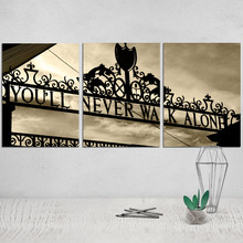 You Will Never Walk Alone Canvas Poster Wall Painting Art Print Camera Instant Decorative Pictures Tableau Pop