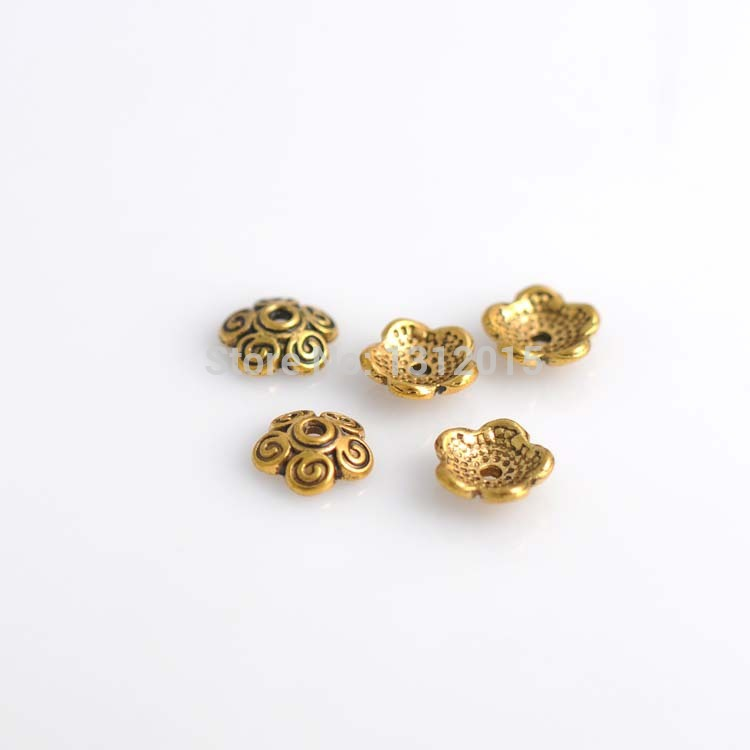 supplies wholesale spacer making beads alloy hot antique jewelry item bronze and round sell