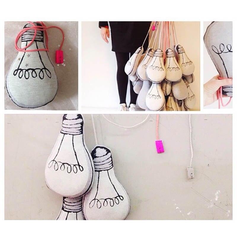 2016 New Baby Plush Lamp Bulb Model Toy Soft Toddler Birthday ...