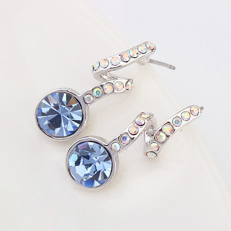 2017 New Fashion Statemen Earrings For Women From Swarovski Elements Crystal Online Ping India Color Jewelry In Stud