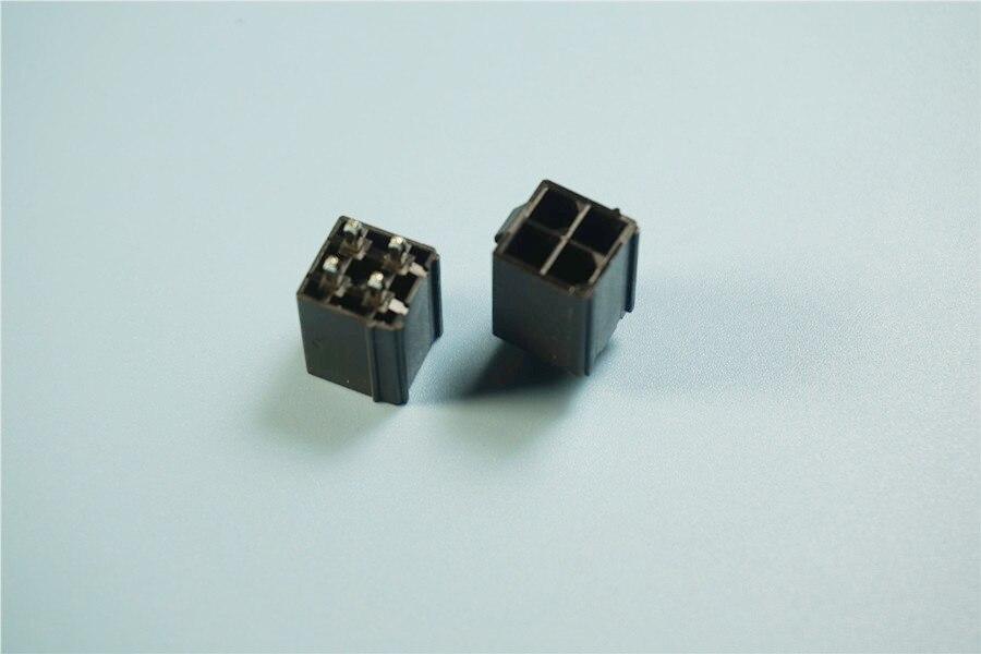 100 Stücke Runde Loch 8Pin Pitch 2,54MM Dip Sockel Adapter ib