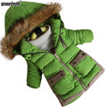 WEONEDREAM 2017 Boys Parka Childen Winter Jackets for Boys Down Jacket Coats Warm Kids Baby Thick Cotton Down Jacket Cold Winter
