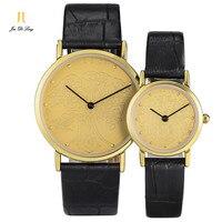 2 *#Brand 1 Pair Personal Retro Fashion Lovers' Watches Men Dragon Women Phoenix Style Quartz Wristwatch Gift For Valentine