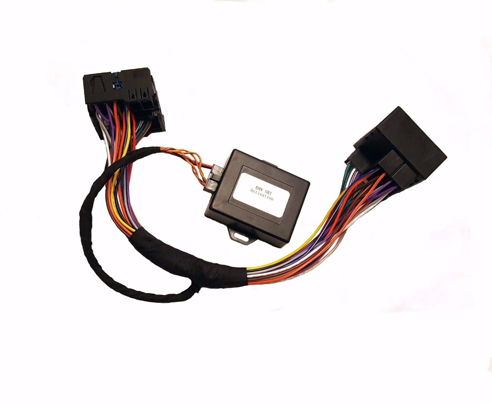 Plug and play for BMW F20 F30 CIC NBT NBT2 EVO retrofit navigation adapter emulator(China)