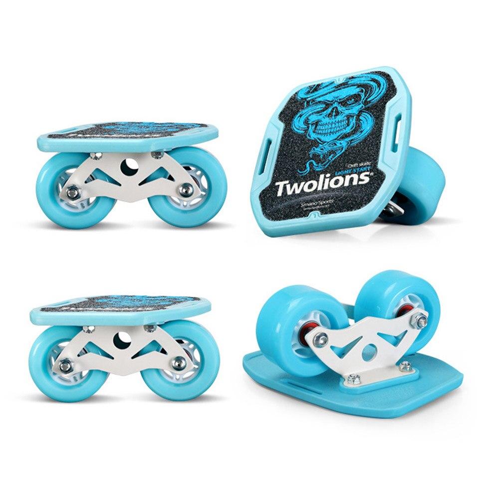 Drift Board Twolions ABS For Freeline Roller Road Drift Skates Antislip Skateboard Deck Freeline Skates Wakeboard Free Ship K001 цена
